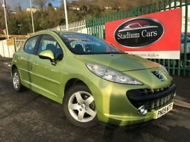 2009 (09 reg) Peugeot 207 1.4 Sport 5dr Hatchback Petrol 5 Speed Manual