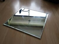 Cheap ! £50 worth Very Big Huge Sqaure Wall mounting Mirror 2 ft X 2ft