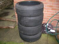BMW RUN-FLAT TYRES - PART WORN IN GOOD CONDITION