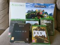 BRAND NEW Xbox One S with Mincraft Bundle & FREE Extra Game (All sealed)