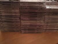 FREE - 100 empty CD jewel cases
