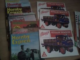 Hornby vintage mags and bass beer wagon