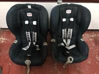 Isofix Britax Romer car seat with harness