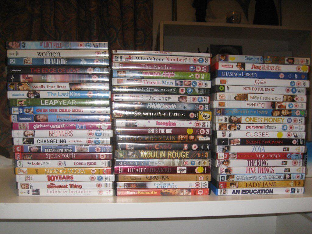 DVD joblot collection x58 LOT