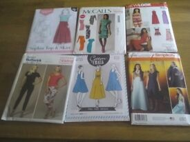 New, uncut, Sewing Patterns