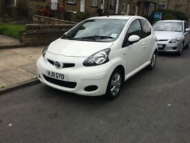 TOYOTA AYGO 1.0 VVTI 2011 5 DOOR LOW MILAGE