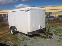 5x10 Enclosed Utility trailer