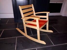 IKEA Wooden Childs Rocking Chair £5