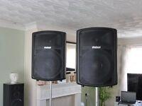 Prosound P.A Speakrs 800 watt pair full range !