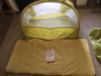 Samsonite pop up travel bubble cot