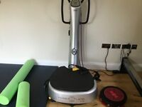 My 5 power plate vibration plate fitness