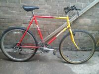 MOUNTAIN BIKE 26 INCH WHEELS 21 GEARS EXCELLENT CONDITION £ 35