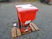 Quad atv electro broadcaster for slug pellets pheasant feeding tractor