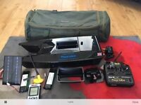 Carp bait boat angling technics procat mk 111 (3) & fish finder. Mint condition. Offers.