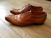 Tan Brogue Shoes size UK 11