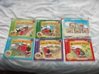 FIVE LITTLE RED TRAIN STORY BOOKS AND CD'S