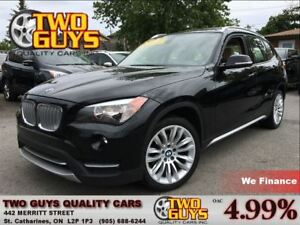 2013 BMW X1 xDrive28i Premium Package/ Panoramic Roof/ AWD