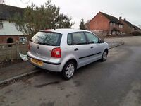 Volkswagen POLO 2002 1.4 petrol 5 doors.silver.good runner car.