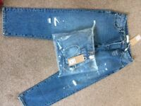 2 pairs of next mens jeans brand new