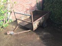 Trailer in need of attention. Has not been used for several years. Buyer collects,