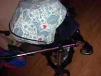 Mamas &a papas pushchair (Donna Wilson edition)