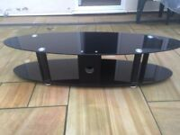 Excellent condition glass TV stand up to 55' TV