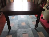 Antique Mahogany extendable Dining Table and chairs