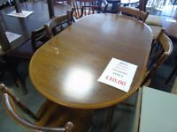 Dining Table with 6 Chairs - Special Offer