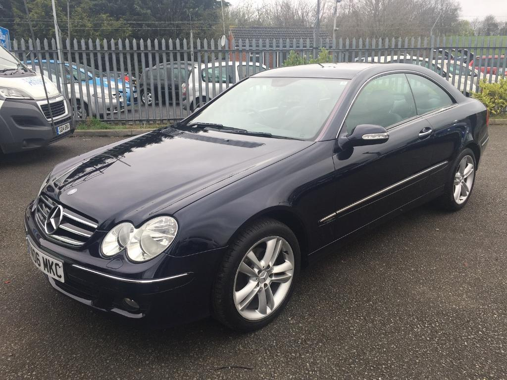 mercedes benz clk clk 200 kompressor avantgarde 3 door coupe blue 2006 in maidstone kent. Black Bedroom Furniture Sets. Home Design Ideas