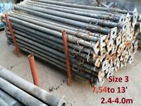 SIZE 3 ACROW PROPS 2000kg loading capacity GALVANISED ACRO PROP LONDON