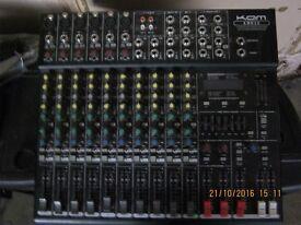 Kam mixer deck