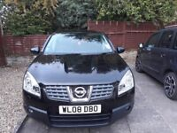 4WD, Automatic Nissan Qashqai Tekna, 2.0dci, leather upholstery,