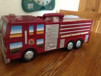 Fire engine playset