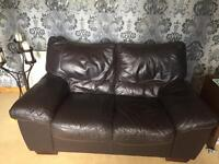Soft Brown Leather Suite