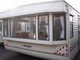 Willerby Leven FREE DELIVERY 35x12 2 bedrooms 2 bathrooms offsite static caravan over 50 to choose