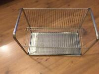 Ikea stainless steel dish drainer rack-only used a couple of times