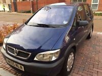 FULL HPI CLEAR NEVER ACCIDENT 5 DOOR AUTOMATIC VAUXHALL ZAFIRA 04 MONTH MOT