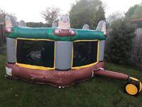 Human Whack-a-Mole Bouncy Castle