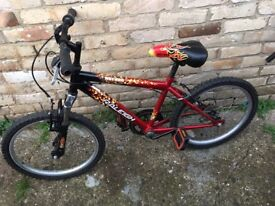 """Raleigh Hot Rod childs mike - 8 to 10 years- 20"""" wheels"""