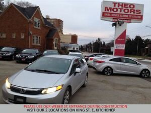 2012 Honda Civic LX | BLUETOOTH | CRUISE | KEYLESS