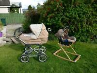 Silver Cross travel system pram buggy
