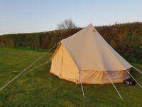 4m Bell Tent Rental