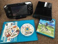 Wii U and zelda breath of the wild