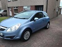 2009 Vauxhall Corsa CDTI Ecoflex. £30 year road tax, 1yr MOT, 1 owner, FSH, Low Mileage