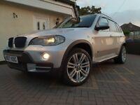 "BMW X5 SE 7S 3.0D AUTO 4x4 PRO SAT NAV REAR ENTERTAINMENT 20"" MSPORT ALLOYS HEATED MEM SEATS AUX MP3"
