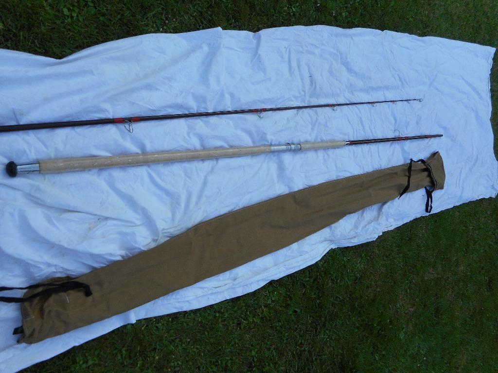 Bass fishing rod custom built 1970 light rod in hockley for Custom made fishing rods