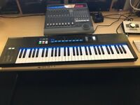 Native Instruments Komplete Kontrol S61 Mk1 inc box, leads, etc.