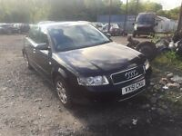 AUDI A4 2.0 PETROL BREAKING FOR PARTS