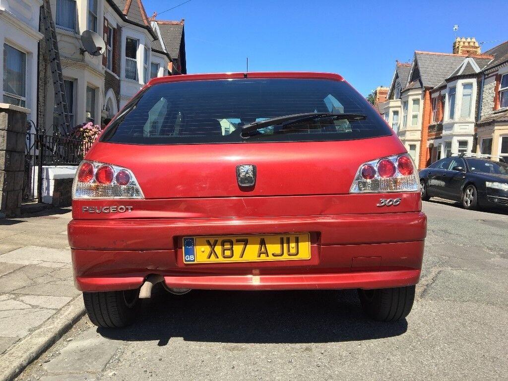 Peugeot 306 2000 X-reg 5 door spares or repair