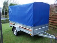 New Trailer 8.7 x 4.2 single axle and cover 150 cm £950 INC VAT